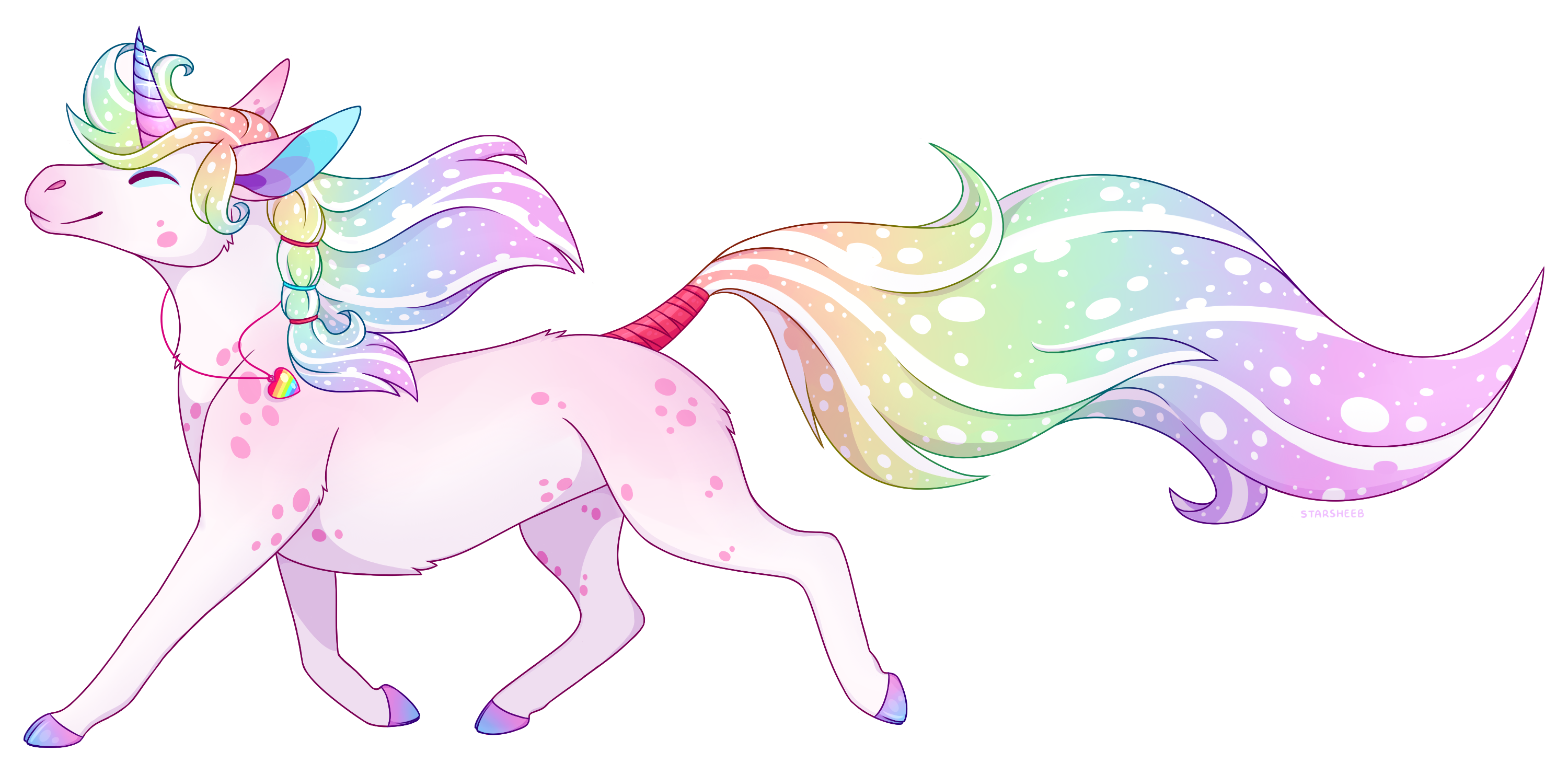 Unicorn Babe by StarSheeb
