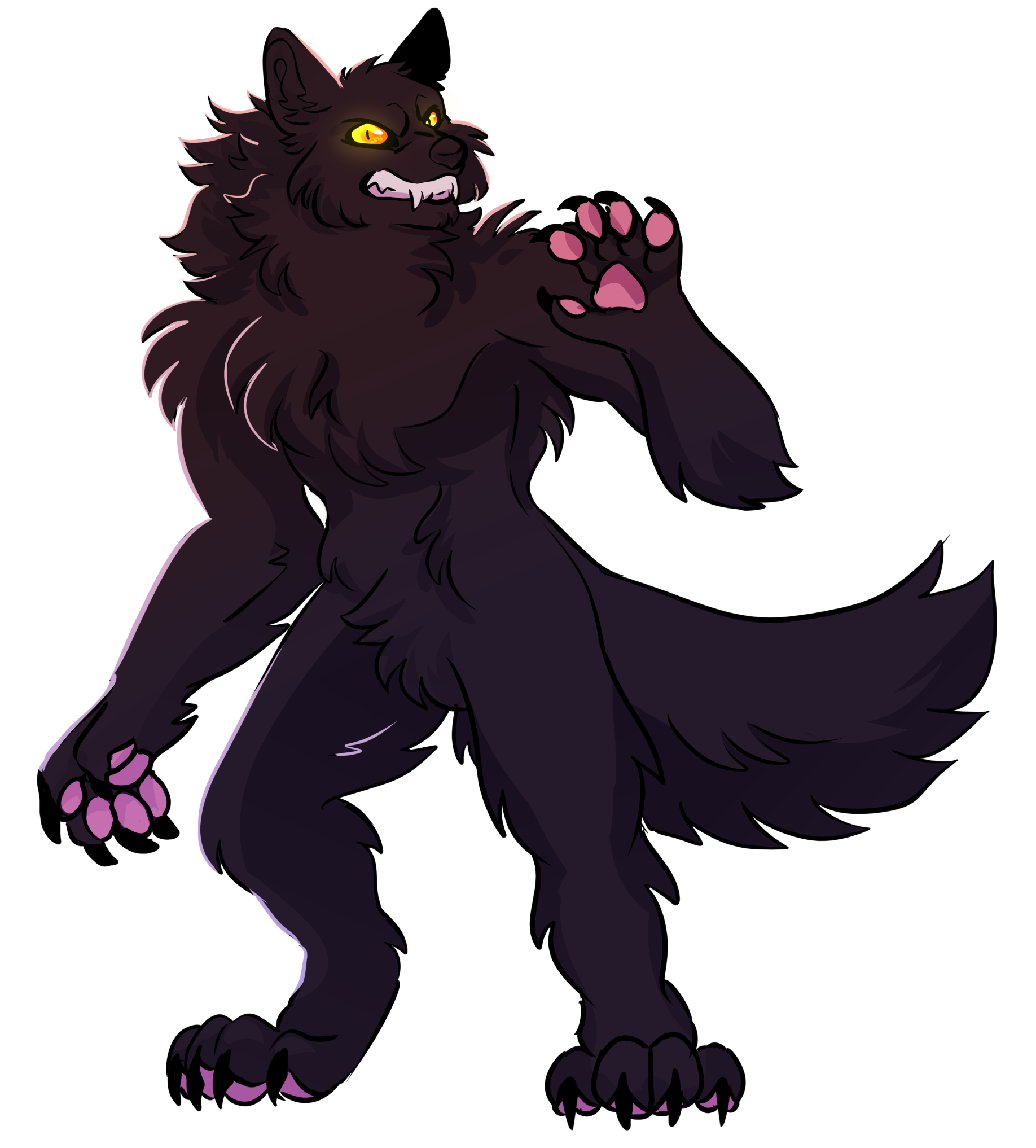 Art of my character by fangs-of-wolf on Art Fight!