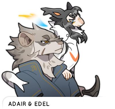 Adair and Edel Talksprite